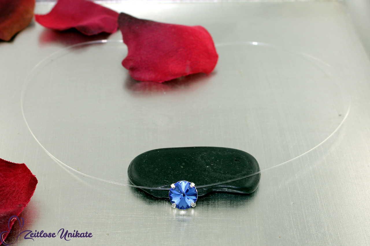 schwebender Stein sapphire - blau