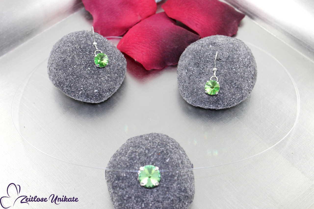 Kristallstein peridot - hellgrün
