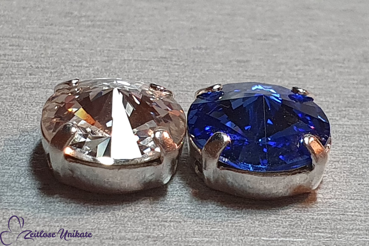 Sapphire - saphireblauer schwebender Stein unbeschreiblich schön
