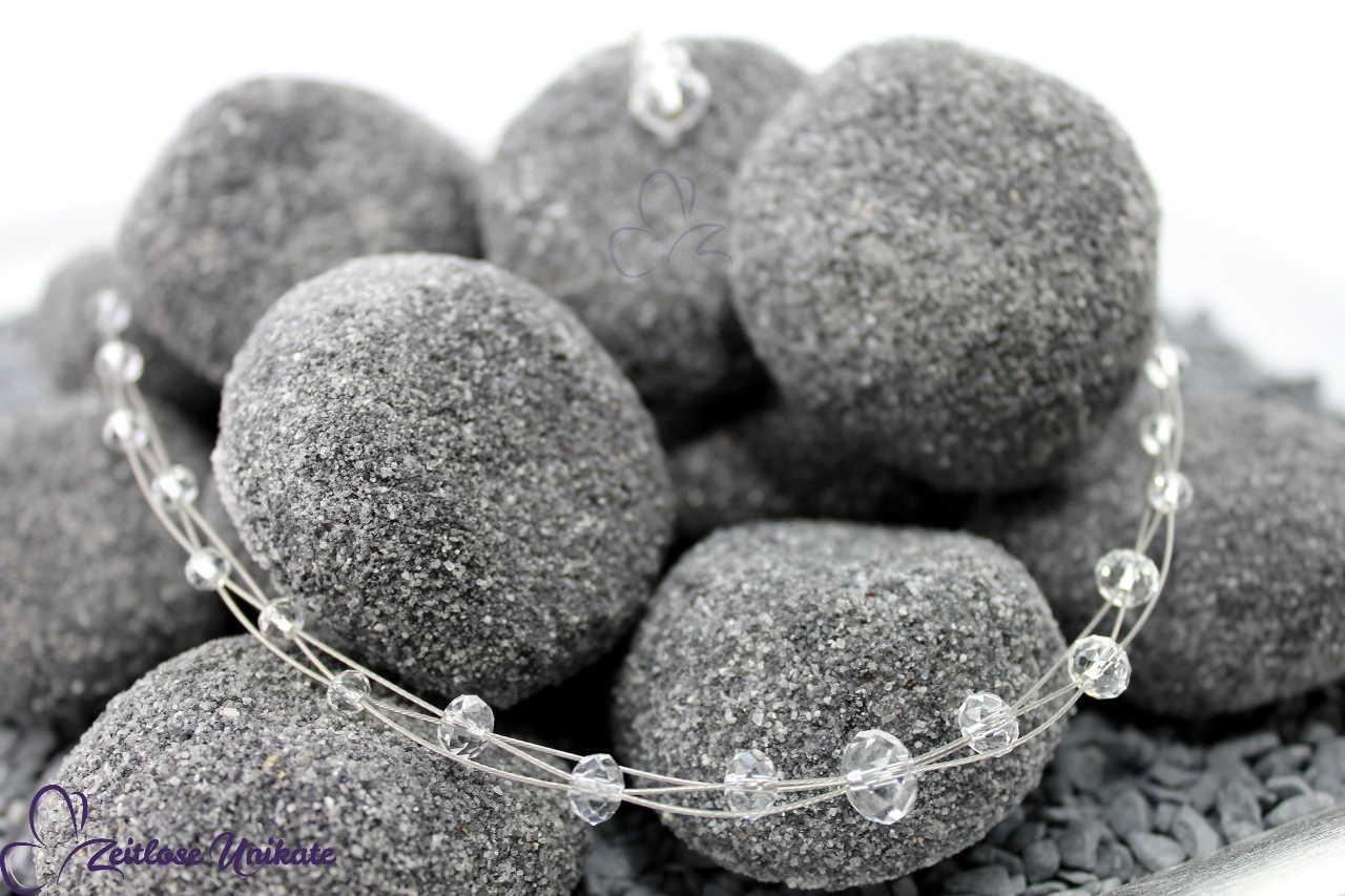 Kristallperlen Collier für die Braut