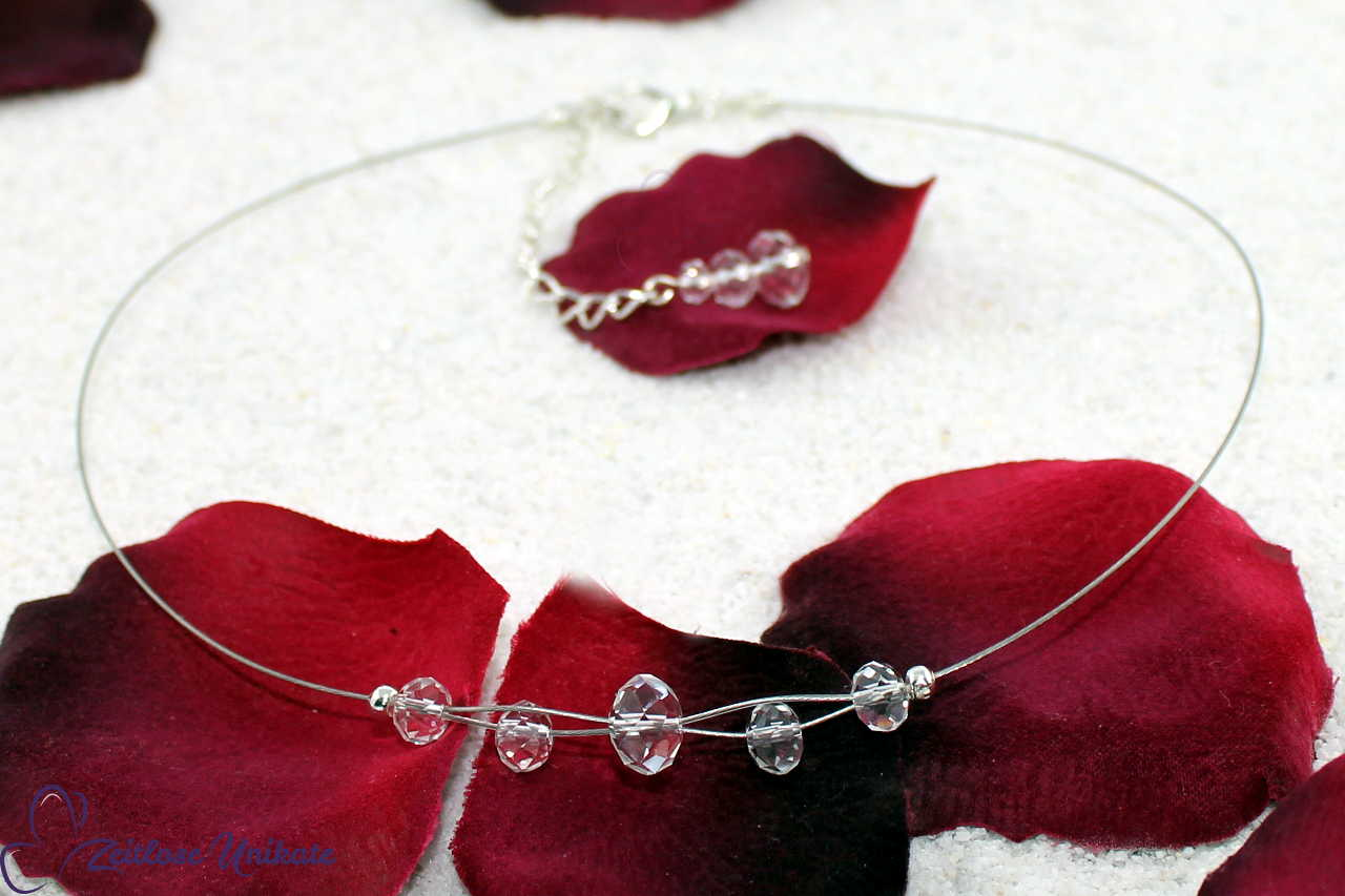 Kropfband Collier für alle Brautkleider