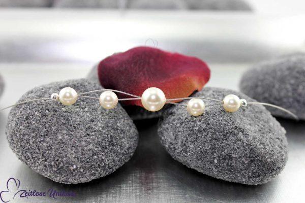 Shining mini mit Perlen, zart