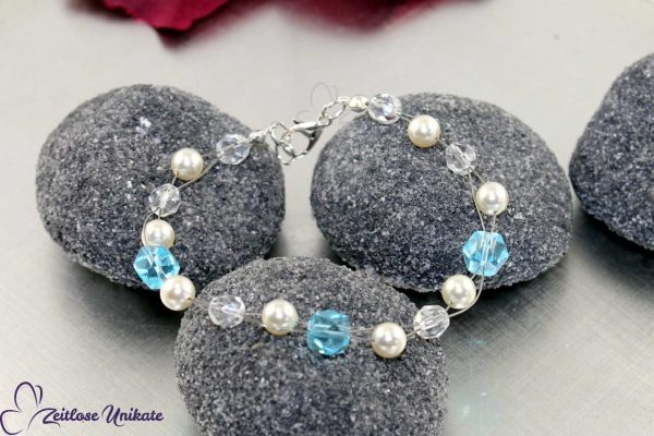 Armband Etwas Blaues Brautschmuck