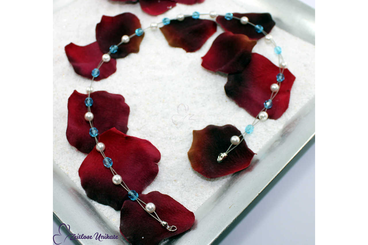 Etwas Blaues, Haarband zur Hochzeit