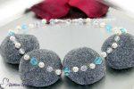 wunderschöne Perlenkette zur Hochzeit
