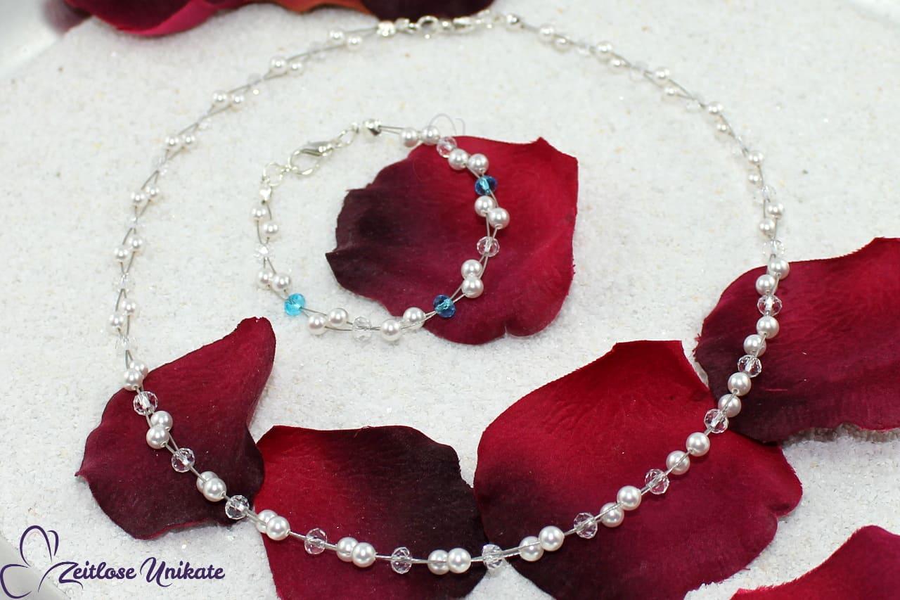 Dezenter Brautschmuck Etwas Blaues ~ Hochzeitsbrauch