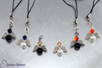Kettenanhänger Engel, verschiedene Farben möglich