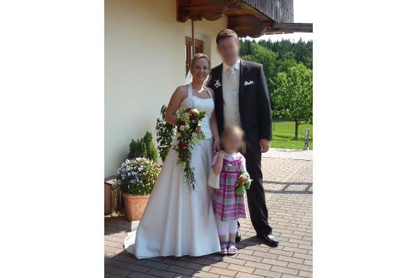 Hochzeitsfoto Familie, Braut Johanna