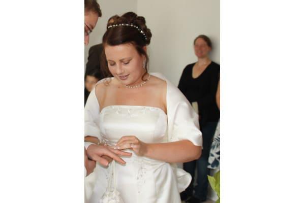 Katrin mit großem Brautschmuckset Standesamt