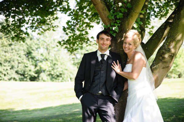 Hochzeitsfoto Brautschmuck Melanie