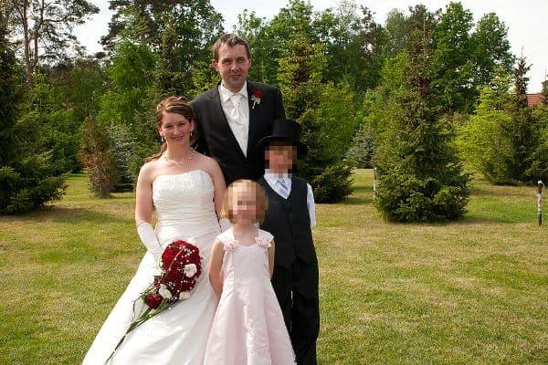 Hochzeitsfoto Familienfotos zauberhaft elegant