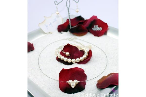 Collier aus Swarovski® Xilion Beads