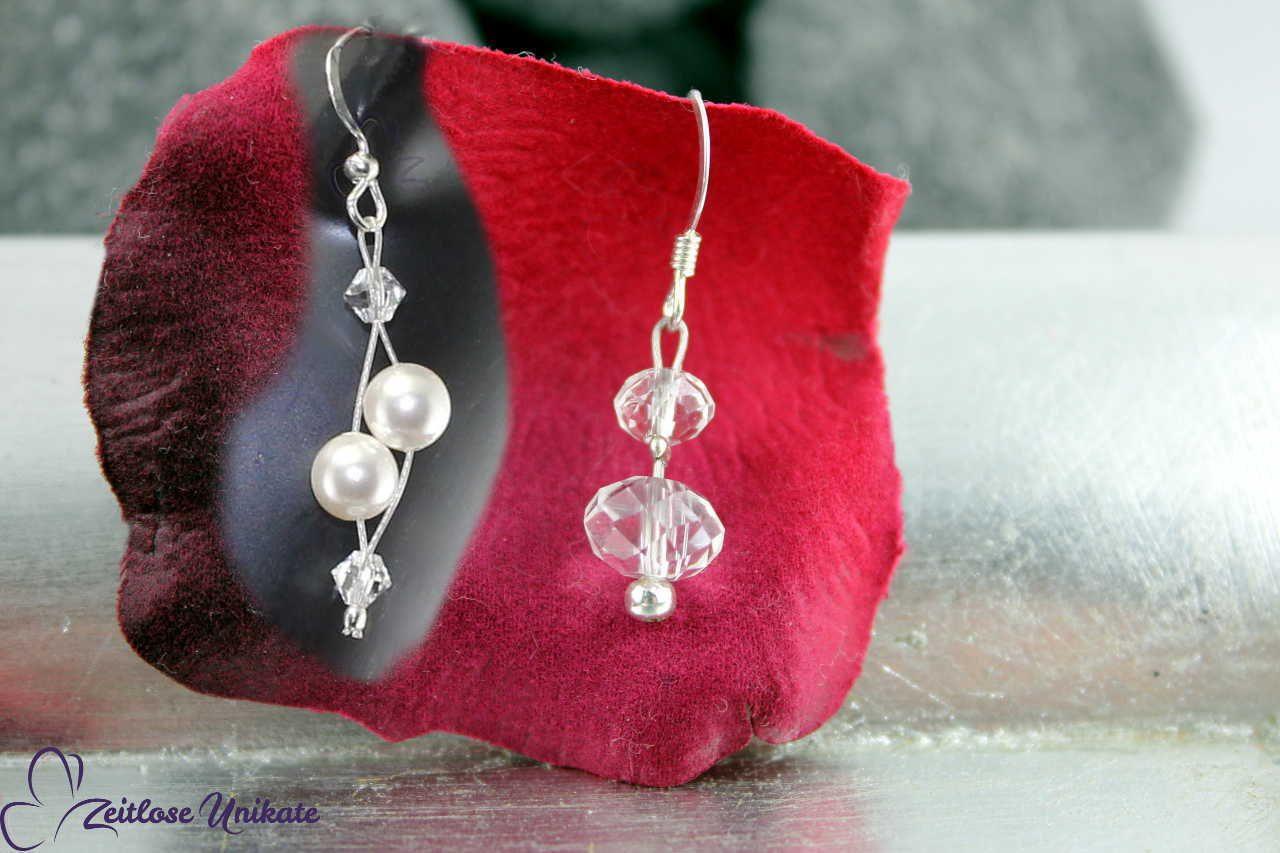 Beispiel mit und ohne ca. 3 mm Perle