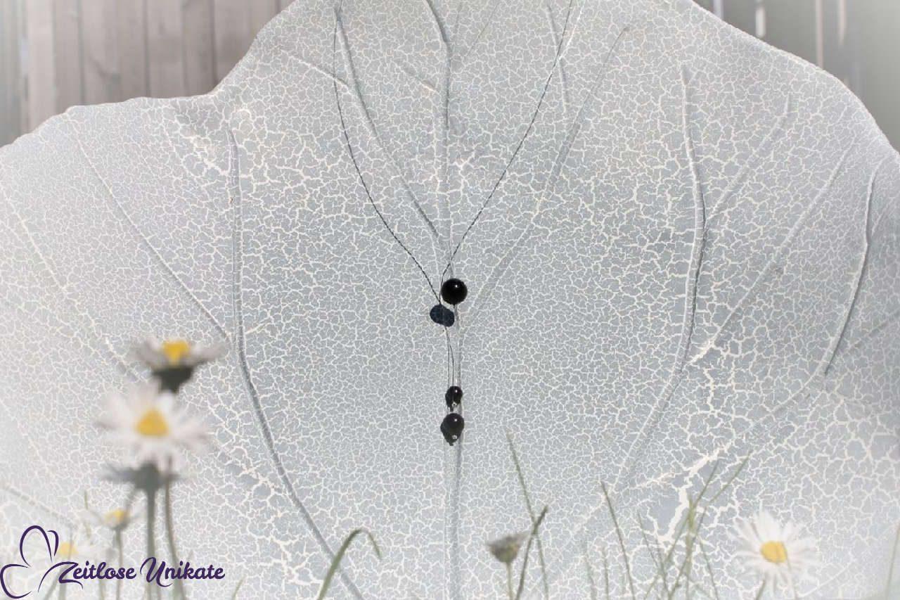 Brautkette Wunsch in schwarz