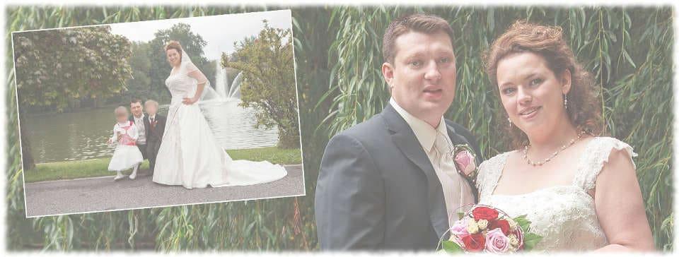 Braut Andrea, Danksagungkarte - Hochzeit