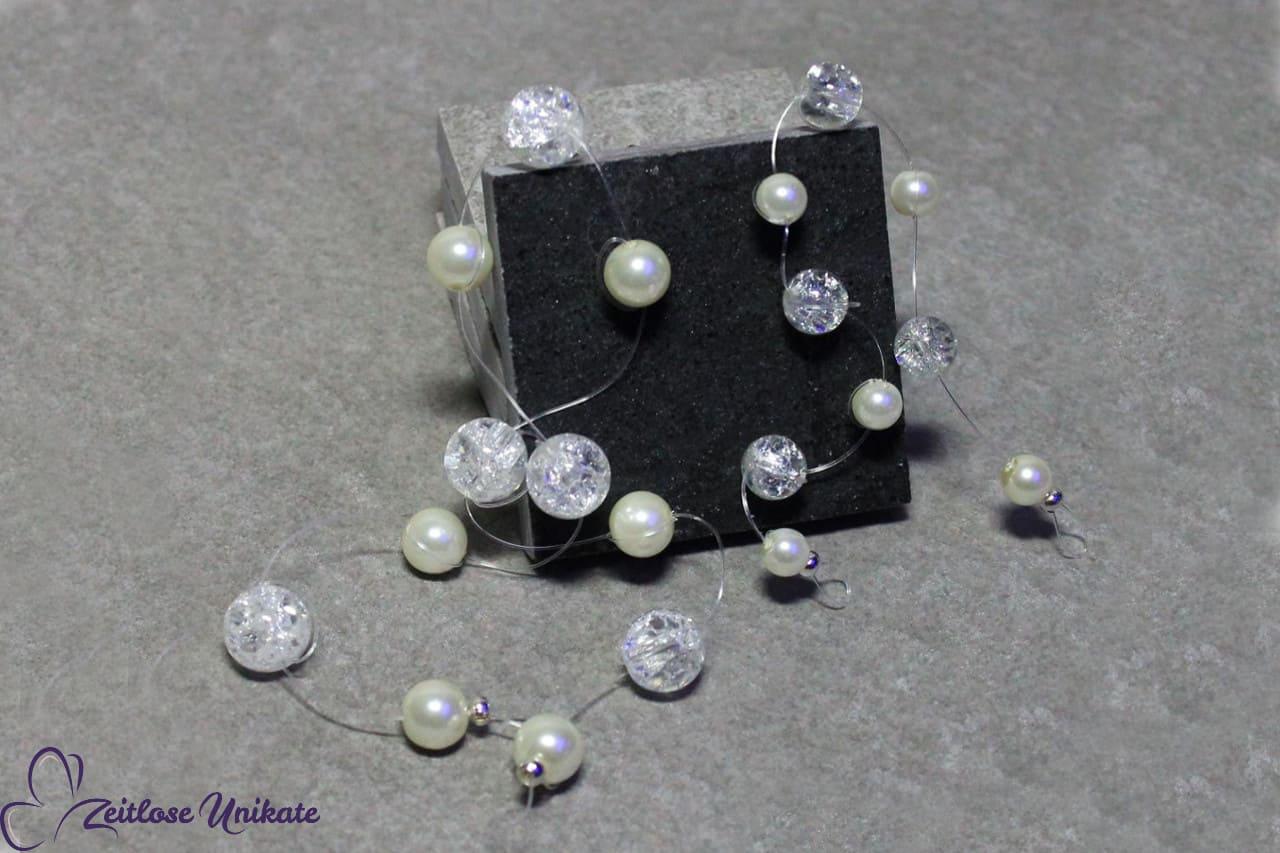 schlichte Haarbänder im Vergleich, Perlen für die Brautfrisur