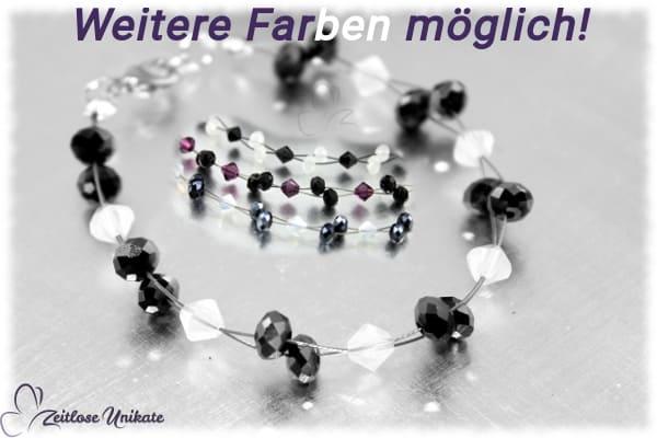Ohrhänger gefertigt aus Swarovski® Xilion Beads, auch in Ihrer Wunschfarbe möglich