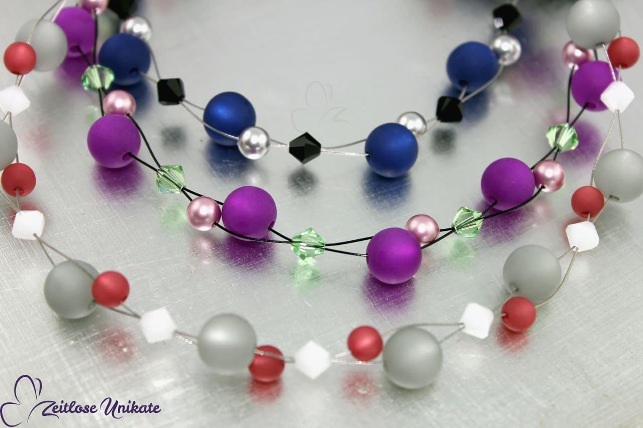 interessante Polaris Ohrringe in vielen Farben