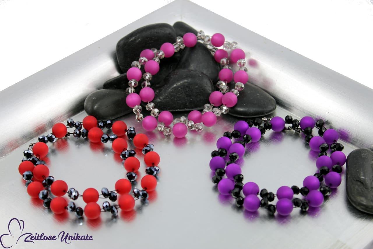 opulente elegante Halskette für jung und alt je nach Farbwunsch